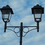 Straßenlampen Installation